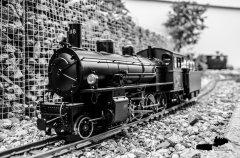 Historische Damfplok G 4/5